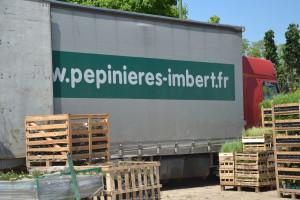 Pépinières logistique